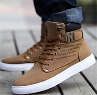 Hot 1Pair Men's Canvas Shoes Winter Boots For Men Daily Casual Snow Boots Flat Heel Canvas Men Shoes e871485