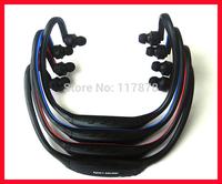 Neckband wireless TF card MP3 sport headset mp3