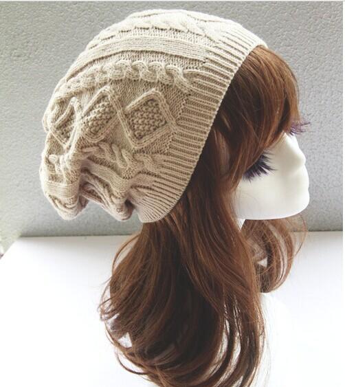 Brand 2015 Fashion Winter Hat Men Beanie Knitted Casual Caps skullies bone Twist Hats For Women Chapeu Feminine Gorro Touca Cap(China (Mainland))