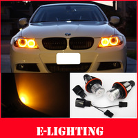 Amber 2X3W 6W LED Angel Eyes Marker for BMW E39 E53 X5 E60 E61 E61 E63 E64 E65 E87