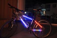 New Bike Bicycle Decorative LED Light Article Safety Cycling Spoke light 4 Mode 14 LED