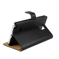 Stand Wallet Leather Case For Samsung Galaxy Note 4 Free Shipping