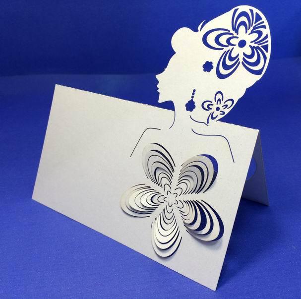 10X personalizado rainha Kit Set corte a Laser cartões de casamento convites decorações de cartão grátis frete(China (Mainland))