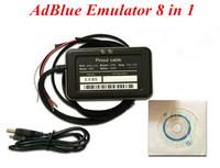 5pcs/lot Adblue Emulator 8 in 1 with NOx sensor Adblue emulator 8 in1 support MAN IVECO RENAULT DAF SCANlA VOLVO MERCEDES F0RD