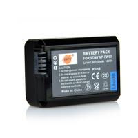DSTE NP-FW50 Battery compatible for Sony NEX-5, NEX-5N, NEX-5R, NEX-5T, NEX-6, NEX-7, NEX-C3, NEX-F3, SLT-A33