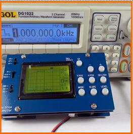 CLEN096 LCD Digital Storage Oscilloscope Mini 5MHz Analog Bandwidth 20MSa/s Oscilloscope Free Shipping(China (Mainland))
