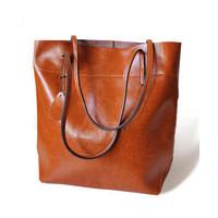 Fashion Head Layer Cowhide Bag 2014 New Women Genuine Leather Handbag Hot Female Shoulder Bag Large Capacity Shopping Bolsas