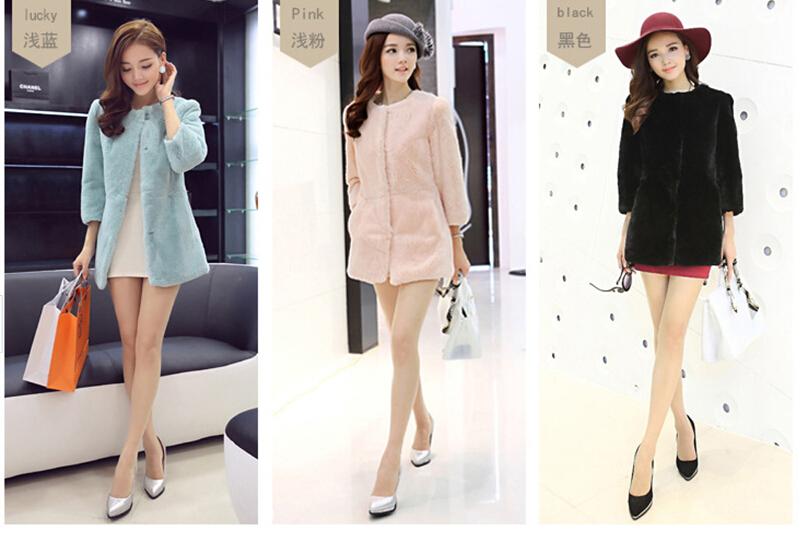 Женская одежда из меха JR PC013 PC0013