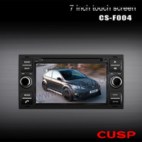 Free shipping! 7 inch Car radio for Ford focus/mondeo/c-max with GPS,Bluetooth,IPOD, Radio, USB, AUX,3G,RDS.