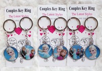 Wholesale New 120PCS Cartoon gift Key Chains Key Ring Accessories