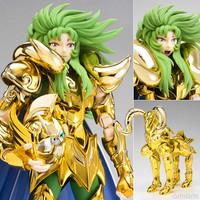 Free shipping Bandai Saint Seiya Cloth Myth Gold EX Aries Pope Shion