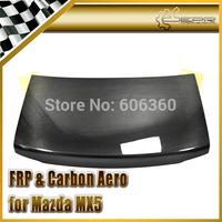 For MAZDA MX5 MIATA MK1 NA Real Carbon Fiber Trunk Boot Lid Flap