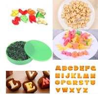 26 Letter Alphabet Shape Cake Fondant Cookie Biscuit Candy Mould Mold Cutter DIY Sugarcraft Decorating Tool Baking Kit
