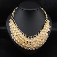 Wholesale Bojoux  Jewelry Fashion Perfume Women Vintage Flower Collars Luxury Choker Statement Pendant Necklace