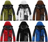 C Hot Men Waterproof Windproof Soft Shell Warm Ski Snowboard Outdoor Sports Tech Jacket Parka