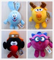 Hot Sale GAMY TOYS Aniball Plush Toy Rabbit/Monkey 9 choose Stuffed Animals plush doll christmas gift 5pcs/lot Free shipping