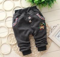 New 2014 Children Boy Pants Comfortable and Warm Gray/Blue/Purple baby boys leggings