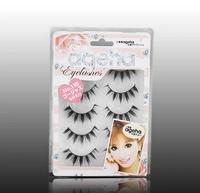 Free Shipping Japanese Natural Thick False Eyelashes/Artistic Human Hair Best Fake Eyelash Extensions Supplies 115/10 pairs1lot
