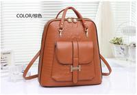 2014 New Arrival woman travel bag School Bags female shoulder bags Women Backpacks vintage Schoolbag PU Leather Backpack bp0424