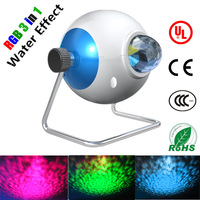 Water effect light,5W LED DJ Disco stage light,UL listed