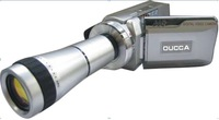 New Mini HD 12MP 720P telescope Digital Video Camera 3.0 TFT color screen 5.0 MP CMOS 8X Zoom remote control recorder Camcorder