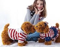 40cm Stufffed Animals & Plush Toys Teddy Dog clothes Poodle Dog Puppy Doll Simulation Models 30cm/40cm