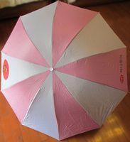 New Quality South Korea Umbrella,Anti-uv Sun Protection Parasols Rain Umbrella 3 Folding Umbrella rain women Gift pink Free ship
