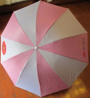 New Quality South Korea Umbrella,Anti-uv Sun Protection Parasols Rain Umbrella 3 Folding Umbrella rain women Gift pink Free ship