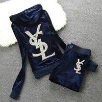 2014 High-quality Velvet Sports Set Female Rhinestones Fashionable Casual Sportswear Set