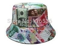 New Style! Free Shipping! Figure money Leisure cap Baseball snapback ,  Sport Fans Cap, DJ Caps, Street Fashion.