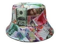 New Style! Free Shipping! Figure money Leisure cap Baseball snapback ,  Sport Fans Cap, DJ Caps, Street Fashion.