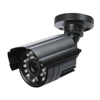 High Quality Color HD CMOS 800TVL High Resolution 24 Leds Outdoor/ Indoor Waterproof IR Bullet Camera CCTV Camera