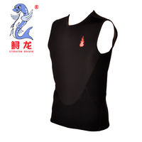 winter swimming vest swim swimwear silver skin in side diving suit thickness 3mm FOR MAN FREE SHIPPING HIGH QUALITY FAMOUS BRAND