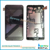 LCD display screen with touch screen digitizer with frame assembly full set for Nokia lumia 530 N530,Original new,free shipping