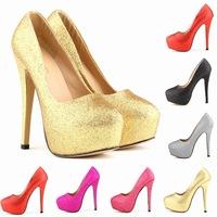Lorraine Tiffen authentic nightclub fashion wedding  skinny legs bridal shoes super high heels shoes  women pumps us4-11