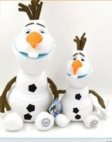 23cm  and 30cm  Frozen  Olaf Snowman Olaf Kristoff plush toys,The Frozen princesa Olaf Stuffed animal Plush Brinquedos Dolls