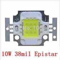 Best Price 38mil Epistar Chip 10Watt High Power LED 3*3 700-800lm 10-12V 800-900mA 20pcs/lot