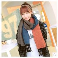 New 2014 women Winter scarf knit wool fashion warmer scarves  FREE SHIPPING 5507