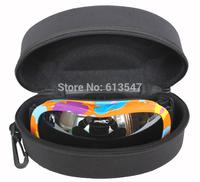 Skiing Mirror Box Waterproof Carry Glasses Ski Eyewear Box Snow Glasses Protection Box SKT-005