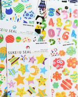 Japan SUKERU SEAL pattern shape DIY decorative stickers many color ship mix free shipping