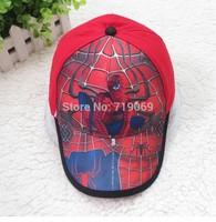 Kids High quality  New Summer Spiderman Hats Baseball Caps Girls Boy Hats Children Hat Baseball Caps