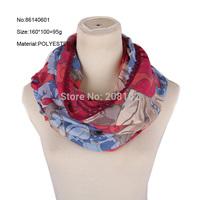160*100 Fashion Women's Large Flower Scarf  Lady Girls Floral Print Scarves Shawl Autumn Winter Wrap Scarf