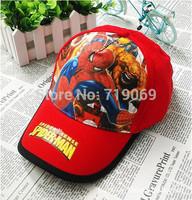 Kids High quality Spiderman Hats New Summer  Baseball Caps Girls Boy Hats Children Hat Baseball Caps