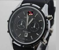 The new PU strap sport climbing men's wear women's clothing circular calendar quartz watch free shipping