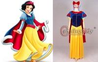 princess Snow White skirt adults dress cosplay costume  Christmas Costume Custom made any size