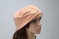 Womens winter spring fall felt Warmer Wool Crochet cap high quality Adult Ladies Women Fedora Hats Dome Hat for girl Headwear