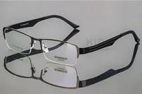 New spectacle eyeglasses metal alloy Half Oversize optical frames eyewear for men women Myopia glasses oculos de sol 911