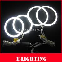 High illumination CCFL Angel Eyes kit For Ford Focus MK2 2005-2007,106mm+126mm CCFL Halo Rings Light