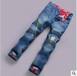 Мужские джинсы D \u0026 Y StraightFall # 99025 Long