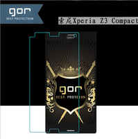 0.3MM 2.5D Explosion-proof Tempered Glass Film Screen Protector Protection For SONY Xperia Z3 Compact With Retail Packaging